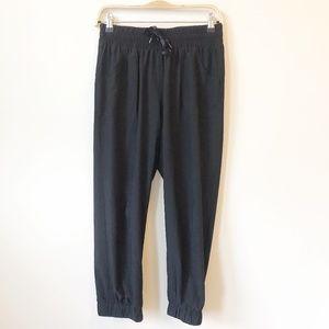 Zella Live In Black Jogger Pants Size 6